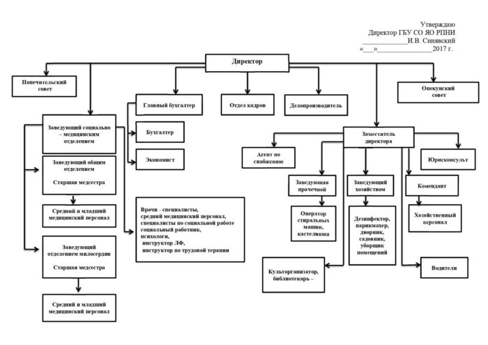 Cтруктура организации